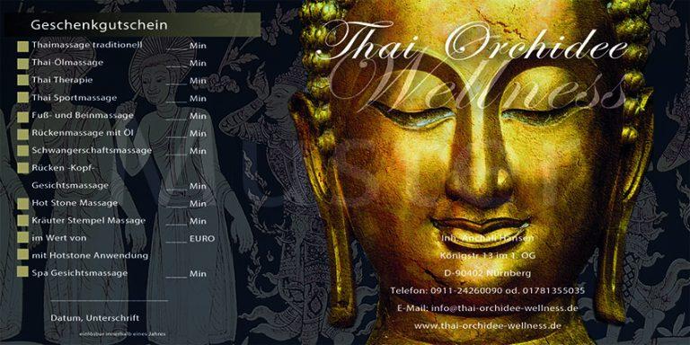 Gutschein Thaimassage